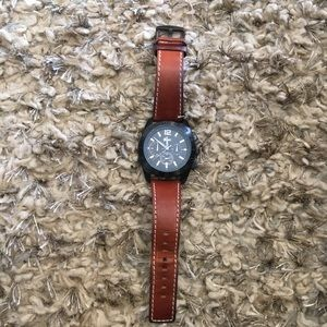 Lacoste Panama Black Dial Chronograph watch.